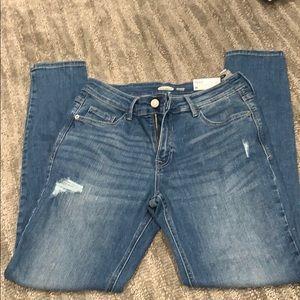 Old navy rockstar super skinny jeans size 8